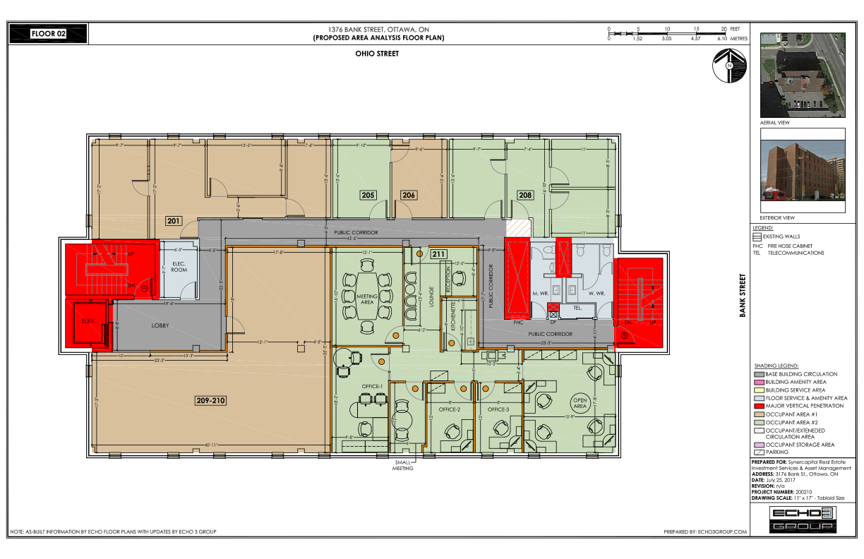See Unit 209, approx 1050 sq ft on 2nd fl floor plan - sarahkirwan.ca